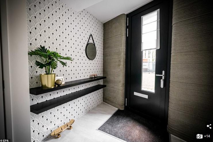 Casa impresa 3D en Holanda