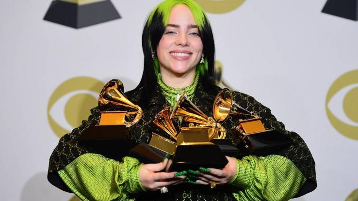 Billie Eilish es la estrella pop con vocabulario más extenso
