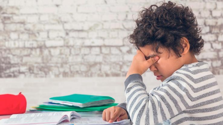 Clases online: conductas de tu hijo que pueden indicar estrés académico